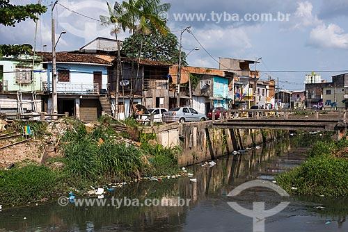 Ponte sobre a Passagem Bom Jesus próximo à Ponte do Galo  - Belém - Pará (PA) - Brasil
