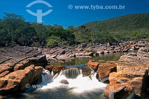 Rio Preto na Parque Nacional da Chapada dos Veadeiros  - Alto Paraíso de Goiás - Goiás (GO) - Brasil