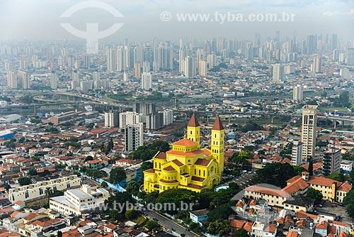 Foto aérea da Basílica de Nossa Senhora da Penha  - São Paulo - São Paulo (SP) - Brasil