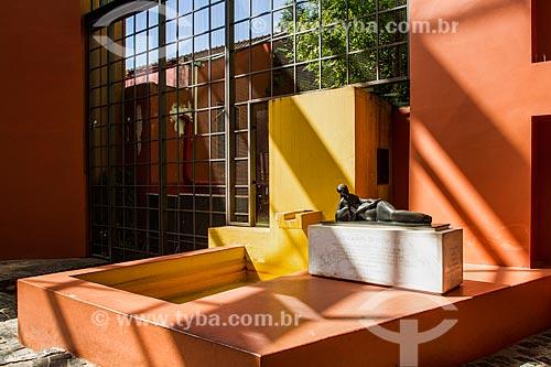Escultura A Tocadora de Guitarra de Victor Brecheret no Interior do Memorial de Curitiba  - Curitiba - Paraná (PR) - Brasil