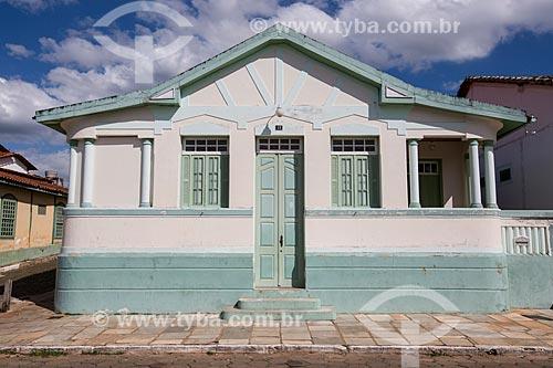 Fachada de casario na Rua Direita  - Pirenópolis - Goiás (GO) - Brasil
