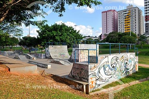 Pista de skate no Parque do Povo  - Presidente Prudente - São Paulo (SP) - Brasil