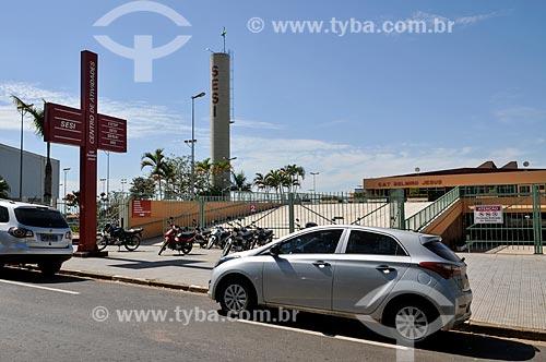 SESI (Serviço Social da Indústria) - Centro de Atividades Belmiro Jesus  - Presidente Prudente - São Paulo (SP) - Brasil