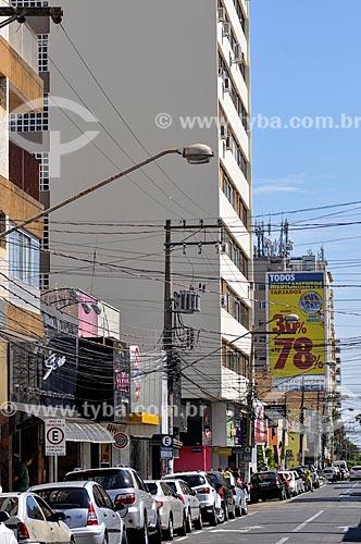 Rua Barão do Rio Branco  - Presidente Prudente - São Paulo (SP) - Brasil