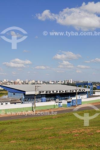 Estádio Paulo Constantino, conhecido como Prudentão  - Presidente Prudente - São Paulo (SP) - Brasil