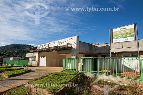 Canteiro de obras da Unidade de Pronto Atendimento (UPA) na cidade de Pirenópolis  - Pirenópolis - Goiás (GO) - Brasil