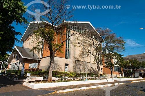 Fachada do Santuário de Nossa Senhora Aparecida  - Tambaú - São Paulo (SP) - Brasil