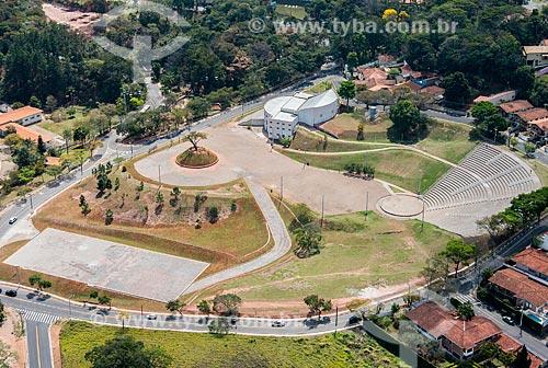 Foto aérea do Centro de Convenções Victor Brecheret  - Atibaia - São Paulo (SP) - Brasil
