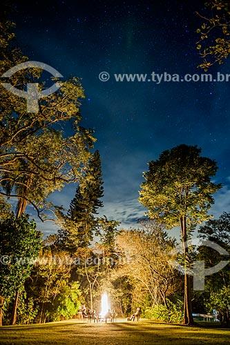 Foto noturna na Fazenda Boa Vista  - Vassouras - Rio de Janeiro (RJ) - Brasil