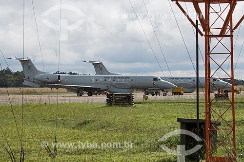 Avião radar R-99A - utilizado pelo Sistema de Vigilância da Amazônia (SIVAM) - na Base Aérea de Anápolis (BAAN)  - Anápolis - Goiás (GO) - Brasil
