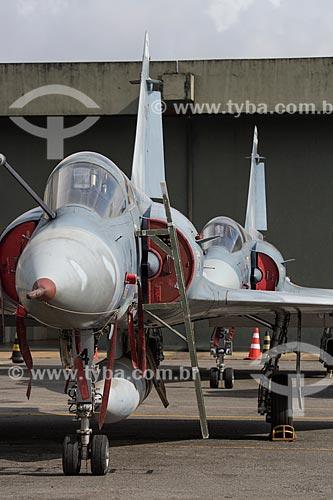 Avião Caça Mirage F2000C na Base Aérea de Anápolis (BAAN)  - Anápolis - Goiás (GO) - Brasil