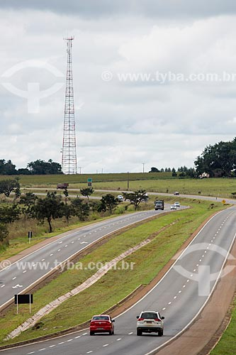 Trecho da Rodovia BR-060 próximo ao Km 82 - entre as cidades de Anápolis e Abadiânia  - Anápolis - Goiás (GO) - Brasil