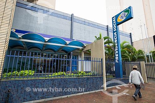 Posto do Instituto Nacional do Seguro Social (INSS) na Rua 15 de Dezembro  - Anápolis - Goiás (GO) - Brasil