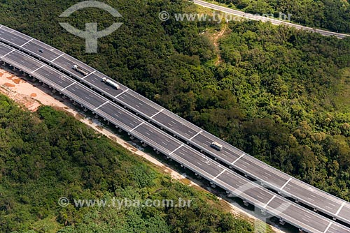 Trecho do Rodoanel Mário Covas - também conhecido como Rodoanel Metropolitano de São Paulo - entre Suzano e Poá  - Suzano - São Paulo (SP) - Brasil