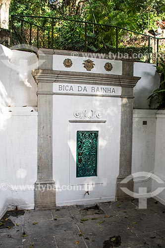 Bica da Rainha (Século XIX)  - Rio de Janeiro - Rio de Janeiro (RJ) - Brasil