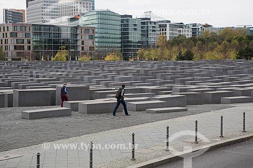 Memorial aos Judeus Mortos da Europa  - Berlim - Berlim - Alemanha
