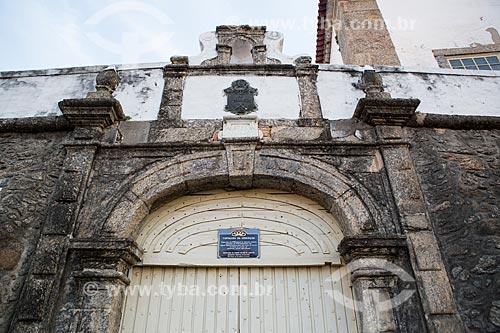 Entrada da Fortaleza de Nossa Senhora da Conceição (1718) - atualmente abriga o Serviço Geográfico do Exército  - Rio de Janeiro - Rio de Janeiro (RJ) - Brasil