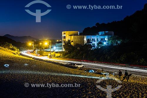 Dunas da Praia da Joaquina à noite  - Florianópolis - Santa Catarina (SC) - Brasil