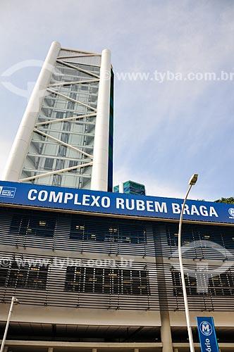 Entrada do Complexo Rubem Braga  - Rio de Janeiro - Rio de Janeiro (RJ) - Brasil