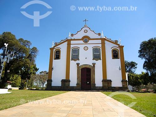 Fachada do Santuário da Santíssima Trindade (1822)  - Tiradentes - Minas Gerais (MG) - Brasil