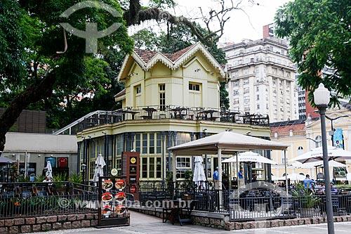 Chalé da Praça XV de Novembro - atualmente restaurante  - Porto Alegre - Rio Grande do Sul (RS) - Brasil