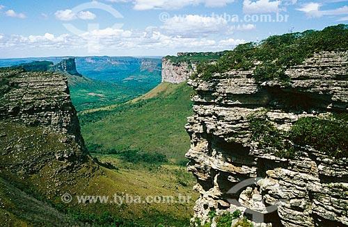 Vista do Parque Nacional da Chapada Diamantina  - Lençóis - Bahia (BA) - Brasil