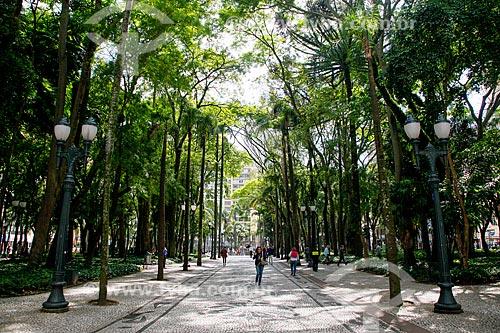 Vista da Praça General Osório  - Curitiba - Paraná (PR) - Brasil