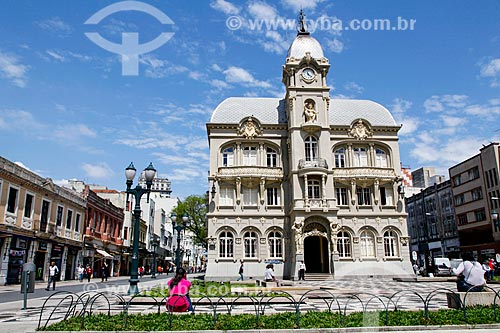 Paço Municipal (1916) - antiga sede da prefeitura de Curitiba, atual Museu Paranaense  - Curitiba - Paraná (PR) - Brasil