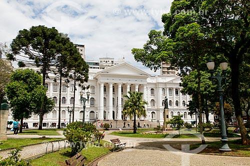 Fachada da Universidade Federal do Paraná  - Curitiba - Paraná (PR) - Brasil