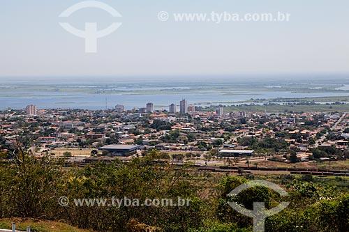 Vista da cidade de Corumbá a partir do Morro do Cruzeiro  - Corumbá - Mato Grosso do Sul (MS) - Brasil