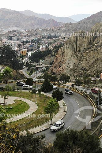 Vista geral de La Paz  - La Paz - Departamento de La Paz - Bolívia