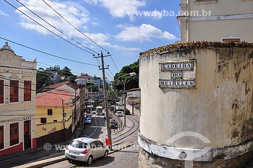 Trânsito na Ladeira do Meireles  - Rio de Janeiro - Rio de Janeiro (RJ) - Brasil