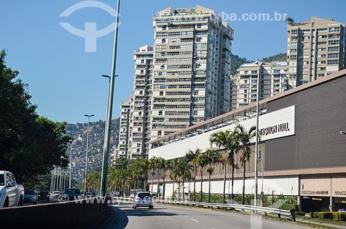 Fachada do Shopping São Conrado Fashion Mall  - Rio de Janeiro - Rio de Janeiro (RJ) - Brasil