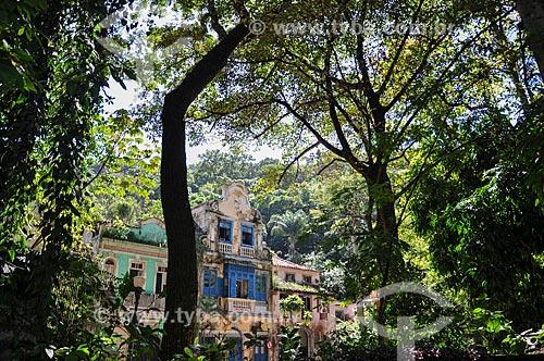 Fachada dos casarios no Largo do Boticário  - Rio de Janeiro - Rio de Janeiro (RJ) - Brasil
