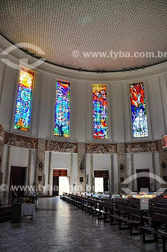 Interior da Paróquia São Judas Tadeu  - Rio de Janeiro - Rio de Janeiro (RJ) - Brasil