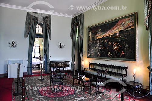 Sala do castelo da Ilha Fiscal  - Rio de Janeiro - Rio de Janeiro (RJ) - Brasil