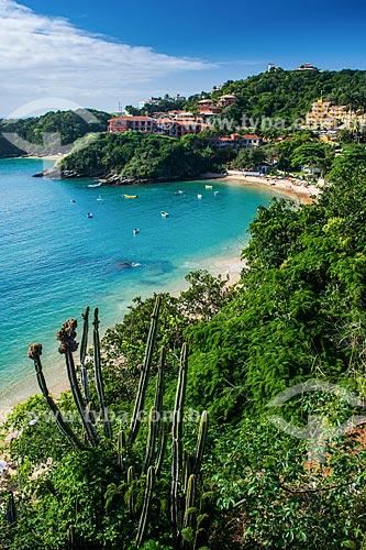 Vista da orla da Praia de João Fernandes  - Armação dos Búzios - Rio de Janeiro (RJ) - Brasil