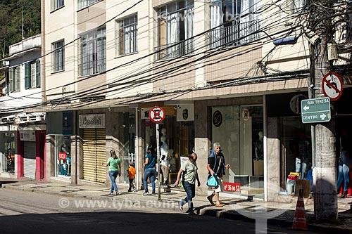 Lojas na Rua Teresa  - Petrópolis - Rio de Janeiro (RJ) - Brasil
