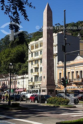 Obelisco de Petrópolis (1957)  - Petrópolis - Rio de Janeiro (RJ) - Brasil
