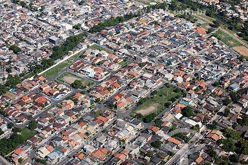 Foto aérea de casas no bairro de Campo Grande  - Rio de Janeiro - Rio de Janeiro (RJ) - Brasil