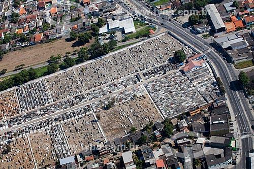 Foto aérea do cemitério de Campo Grande  - Rio de Janeiro - Rio de Janeiro (RJ) - Brasil