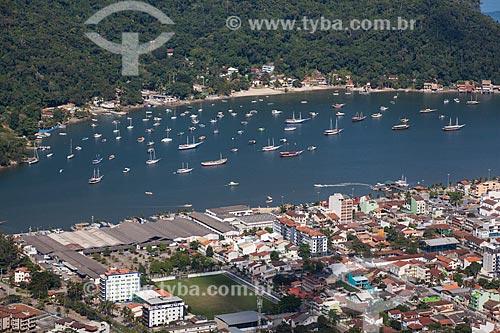 Foto aérea do distrito de Itacuruçá  - Mangaratiba - Rio de Janeiro (RJ) - Brasil