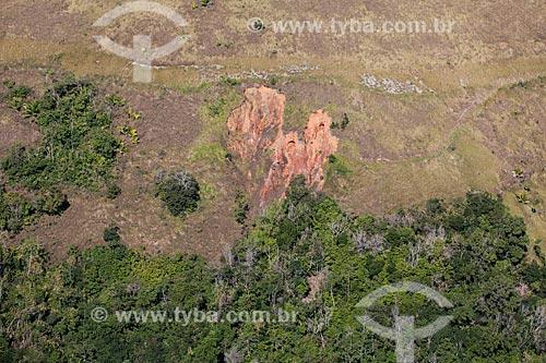 Foto aérea de Voçoroca - ou Vossoroca - no distrito de Itacuruçá  - Mangaratiba - Rio de Janeiro (RJ) - Brasil