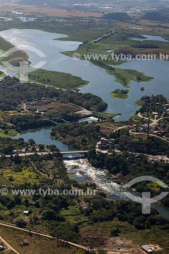 Foto aérea do Rio Guandu  - Seropédica - Rio de Janeiro (RJ) - Brasil