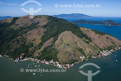 Foto aérea da orla de Angra dos Reis  - Angra dos Reis - Rio de Janeiro (RJ) - Brasil