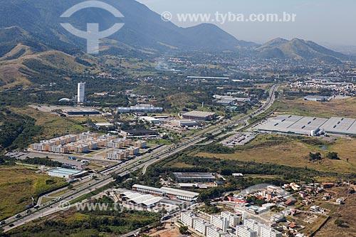 Foto aérea da Avenida Brasil em Campo Grande  - Rio de Janeiro - Rio de Janeiro (RJ) - Brasil