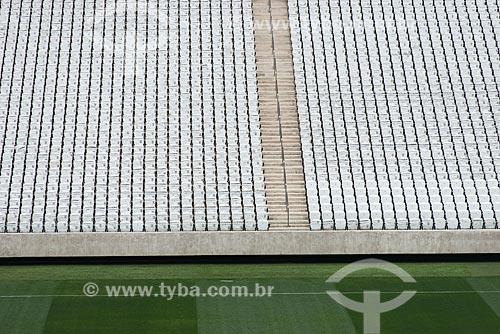 Arquibancadas na Arena Corinthians  - São Paulo - São Paulo (SP) - Brasil