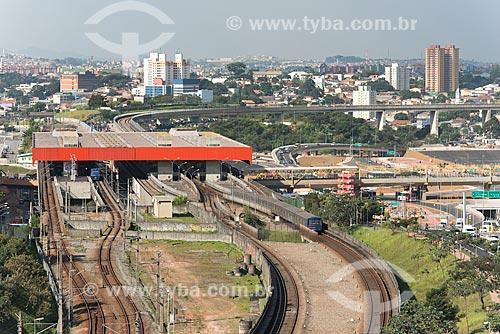 Estação Corinthians-Itaquera do Metrô de São Paulo  - São Paulo - São Paulo (SP) - Brasil