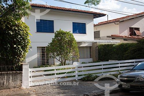 Casa sem grade de proteção na Rua Votuporanga  - São Paulo - São Paulo (SP) - Brasil