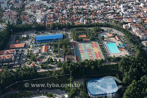 Foto aérea do SESI (Serviço Social da Indústria) Contagem  - Contagem - Minas Gerais (MG) - Brasil